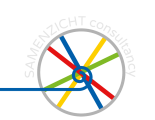 SAMENZICHT Consultancy <br/>services in online marketing